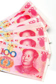 China's currency — Foto de Stock