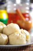 Chinese Steamed Buns — Stock Photo