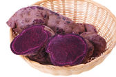 Batatas colores púrpuras — Foto de Stock