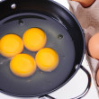 Egg yolk — Stock Photo #30182627