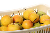 Yellow and green apples — Stock Photo