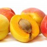 Group apricot — Stock Photo
