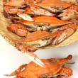 Steamed crabs — Foto de stock #30308099