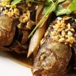 Fried fish crucian — Stock Photo #30316835