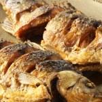Fried fish crucian — Stock Photo #30316893