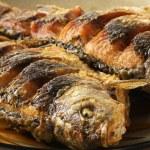 Fried fish crucian — Stock Photo #30316925