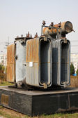 Electrical power transformer — Photo