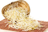 Mung bean sprouts — Stock Photo