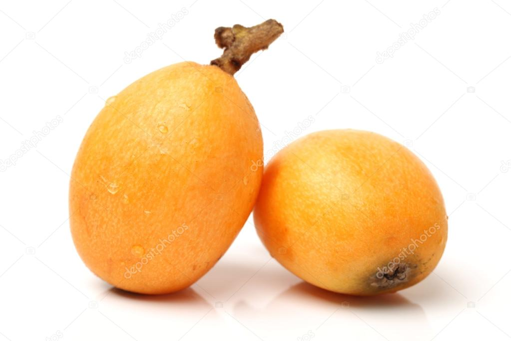 Nispero Fruta Fruta Del n Spero Aislado
