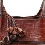 Luxury female handbag — Stock Photo