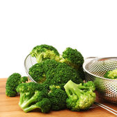 Boiled Broccoli — Stock Photo