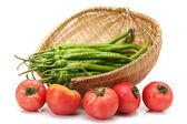 Peperoncino e pomodoro — Foto Stock
