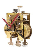Clock mechanism inside — Stock Photo