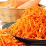 Polished carrots — Stock Photo