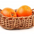 Orange on the white background — Stock Photo #32691779
