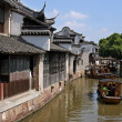 The China that anyone dreams Shanghai Xizha old village — Stock Photo