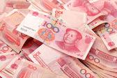 China renminbi — Stock Photo