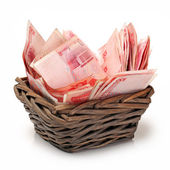 China renminbi — Stock Photo