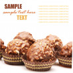 Cukierki czekoladowe — Zdjęcie stockowe