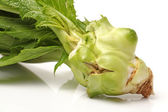 Kohlrabi isolated on white background — Stock Photo