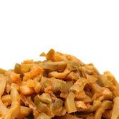 Hot pickled mustard tuber — Stock Photo