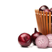 Red onion — Stock Photo
