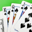 Poker cards — Stock Photo #35543097