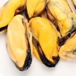 Постер, плакат: Cooked mussels
