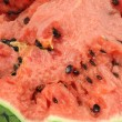Closeup of watermelon — Foto de Stock
