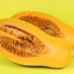 Cutted Orange pumpkin — Stock Photo #35577231