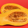 Cutted Orange pumpkin — Stock Photo #35577447