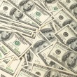 One hundred dollars banknote  background  — Foto Stock