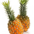 Pineapple on white background — Stock Photo