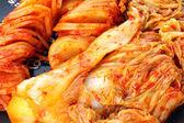 Kimchi (Korean food) close up — Stock Photo