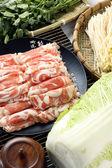 Vers vlees roll — Stockfoto
