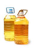 Oil bottle — Stock Photo