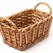 图库照片: Braided basket