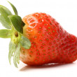 Strawberry with leafs — Stock Photo #40885935