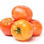 Pyramid of tomatoes — Stock Photo