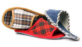 Various slippers — Stock Photo