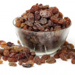 Stock Photo: Bowl of raisins