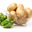 Stock Photo: Potatoes with peppers