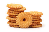 Delicious crackers — Stock Photo