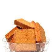 Bowl of tofu — Stock Photo