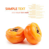 Juicy persimmons — Stock Photo