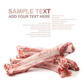 Raw spare ribs — Stock fotografie