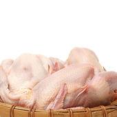 Raw hens — Stock Photo