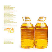 Bottles of oil — Stock Photo