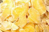 Sweet slices ginger — Stock Photo