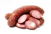 Cutted sausage — Stock Photo